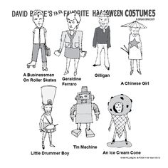 David Bowie's going to be an ice cream cone for Halloween. What will you be? #littlebabysicecream #halloween