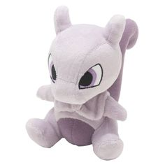 Pokemon Center Mewtwo Plush Doll.with the bonus item.Tracking number- #PokemonCenter