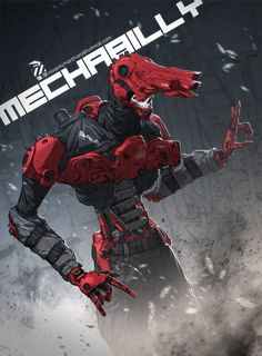 ArtStation - Mechabilly!!!, Nivanh Chanthara