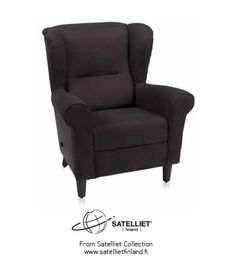 A soft armchair for in-depth reading. Suitable for detective novels