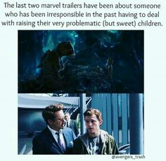 Spider-Man and Guardians of the Galaxy.