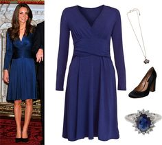 Kate Middleton lookalike outfit