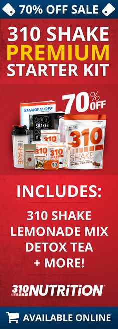 Get 70% Off The Premium 310 Shake Starter Kit!
