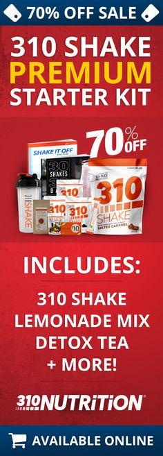 Get 70% Off The Premium 310 Shake Starter Kit!