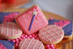 Cookies at a Princess Party with Such Cute Ideas via Kara's Party Ideas   KarasPartyIdeas.com #PrincessParty #Party #Ideas #Supplies #princesscookies