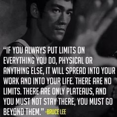 "My favorite ""philosopher"", Bruce Lee. His Jeet Kun Do teachings have changed my life and empowered my future."