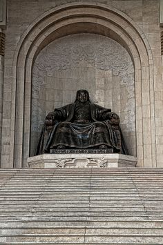Genghis Khan -1162-1227 was the founder of the Mongol Empire