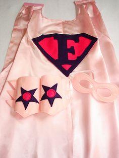 Children's Custom Superhero Personalized Kids Cape by magicalattic, $32.50