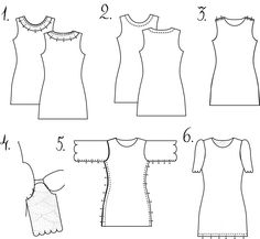 Tutorial on sewing a shift dress (including a free downloadable pattern for sizes 0 - 12)