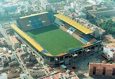 Estadio El Madrigal en Villareal, Valencia