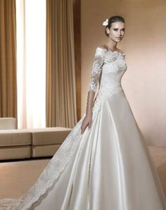 [ White Lace Wedding Dress Design Sleeves Wedding Dresses Simple ] - white wedding gowns bridal dresses collection 2016 2017 wholesale newest simple design elegant bridal dress a of the most stunning long sleeve wedding dresses chic lace short wedd Wedding Dress Train, Dream Wedding Dresses, Bridal Dresses, Wedding Gowns, Lace Wedding, Flowergirl Dress, Wedding Shawl, Wedding White, Bridal Outfits