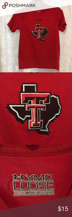 Under Armour Texas Tech Logo T-Shirt Size YMD! Used Under Armour Heat Gear Shirt in nice condition. Smoke free home. If you don't like the price, feel free to make an offer! Under Armour Shirts & Tops Tees - Short Sleeve