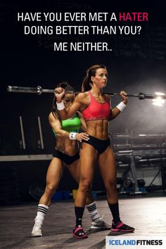 """""""Have you ever met a hater doing better than you? Me neither."""" #Fitness #Inspiration #Quote"""