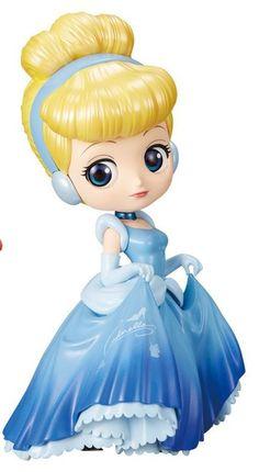 Qposket Cinderella special coloring Disney Princess Doll Collection, Disney Princess Babies, Disney Princesses And Princes, Disney Collectibles, Sailor Moon Crystal, Cute Disney, Disney Art, Disney Mignon, Chibi Kawaii