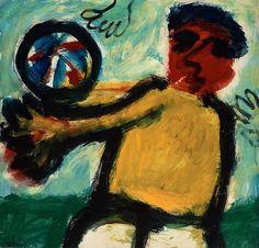 Eugene Brands `THE BALL GAME` Canvas Art Print
