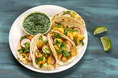 Healthy Veggie Tacos - Viva La Food