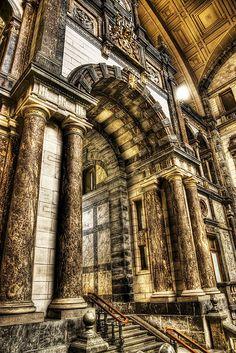 Central Station Antwerp Belgium