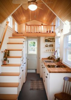 luxurious tiny house design you must check 5 > Fieltro.Net luxurious tiny house design you must check 4 Tiny House Loft, Best Tiny House, Tiny House Living, Tiny House Plans, Tiny House On Wheels, Tiny House Design, Rv Living, Tiny House Kitchens, Barn House Plans