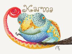 "Karma | Colors ""They come and go."" Pro tip: Dot size in the Draw..."