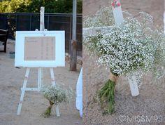 La boda de Xàntala + Daniel: La decoración