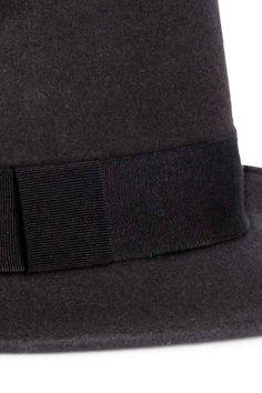 Kapelusz fedora z wełny | H&M