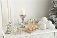 Mercury Effect Candle Tray