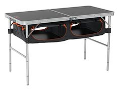 DOPPELGANGER Dopperugyanga folding storage outdoor table TB5110 indoor use also as a storage space with the  compact storage  dining table office desk garage supplies storage of large capacity -- Check out this great product.