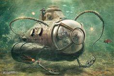 Steampunk sub