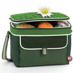 Kühltasche Rasen Banchetto, large - e-my #green #grass #funky #isolated #isolation #bag