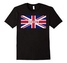 Men's Vote Brexit Union Jack United Kingdom Great Britain...