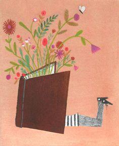 Lee un libro, pues. Concepción de Julie Morstad.