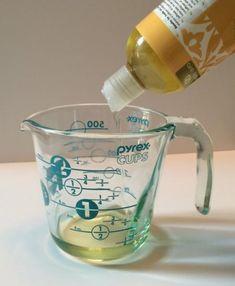 Mettez de l'huile pour bébé