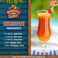 Hurricane via Margaritaville