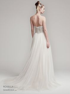 Rosella Bodice and Shardea Skirt-   Amelie Collection Sottero and Midgley at The Harrogate Wedding Lounge