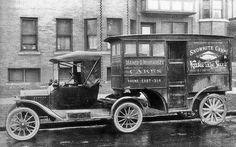 Michel GermainVéhicules Anciens / Vintage Vehicles (Canada) L`ancêtre du semi trailer.