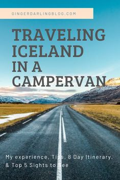 Traveling Iceland in a campervan gives allows you to enjoy your trip at your own pace. I share my campervan experince, best tips, & 8 day itinerary. Travel Through Europe, Travel Around The World, Camping Tours, Adventures Abroad, Original Travel, Things To Do Alone, Iceland Travel, Renting, Campervan