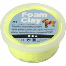 Foam Clay, neon yellow, 35 g