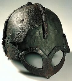 Viking Age Helmet -- The Viking Age helmet pictured here is known as the Gjermundbu helmet, named after the farm it was found at near Haugsbygd, Norway, in 1943 CE. It was located inside a Viking Age burial chamber. Although at the time of discovery it was in nine pieces, it has since been reconstructed. It resides at the Museum of Cultural History connected with the University of Oslo in Norway.