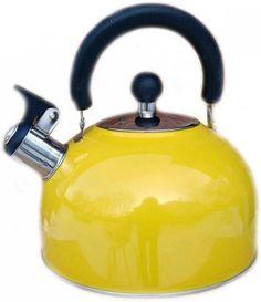 Чайник Катунь KT 105 J жёлтый 2.5 л нержавеющая сталь