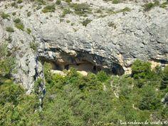 Cova de la Vila, en el Barranc de la font del Corral, Capafonts Tarragona.
