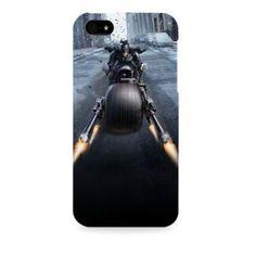 Dark Knight-Batman batpod Apple I phone 5 & 5S case (Officially Licensed)