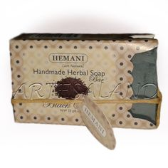 Jabón negro HEMANI de semillas de Sésamo - 70grs