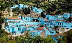 Júzcar, blauw dorp in Spanje