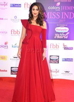 Photos: Bollywood stars at the 54th Femina Miss India World 2017 - Entertainment  #ileanadcruz #firered #outfitgoals #events #bollywoodactress #bollywoodmovies