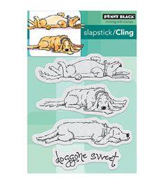 Penny Black Doggone Sweet Cling Rubber Stamp