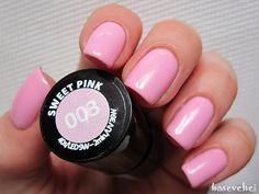 baseveheinails: Semilac - 003 Słodki różowy