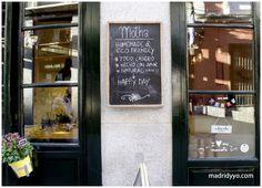 Motha Café-Deli, Barrio de las Letras, Madrid.
