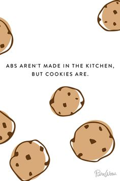 that's where the cookies are ...