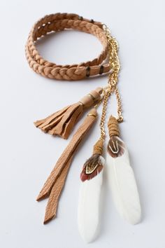 Camel feather headband by spell