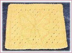 My Free Knit Dishcloth Patterns